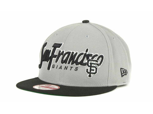 San Francisco Giants New Era MLB Pull It Back 9FIFTY Strapback Cap Hats