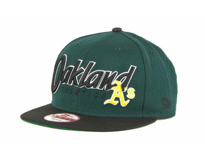 Oakland Athletics MLB Pull It Back 9FIFTY Strapback Cap Hats
