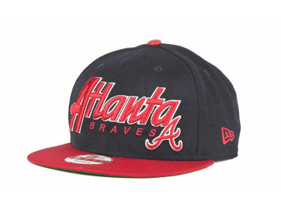 Atlanta Braves MLB Pull It Back 9FIFTY Strapback Cap Hats