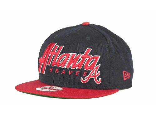 Atlanta Braves New Era MLB Pull It Back 9FIFTY Strapback Cap Hats