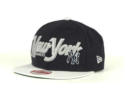 New York Yankees New Era MLB Pull It Back 9FIFTY Strapback Cap Hats