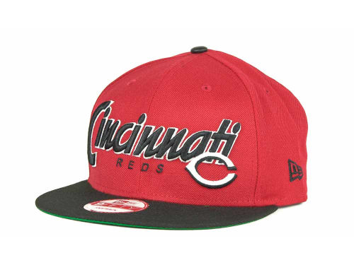 Cincinnati Reds New Era MLB Pull It Back 9FIFTY Strapback Cap Hats