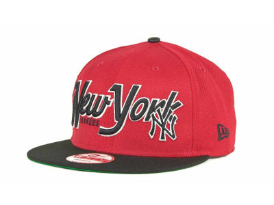 New York Yankees MLB Pull It Back 9FIFTY Strapback Cap Hats