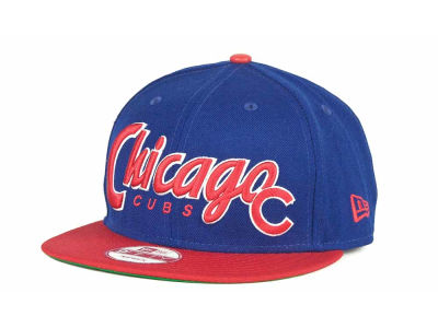 Chicago Cubs MLB Pull It Back 9FIFTY Strapback Cap Hats