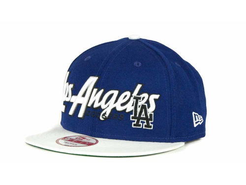 Los Angeles Dodgers New Era MLB Pull It Back 9FIFTY Strapback Cap Hats