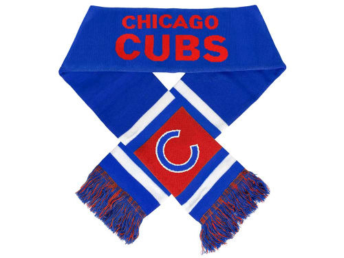 Chicago Cubs Forever Collectibles Acrylic Team Stripe Scarf
