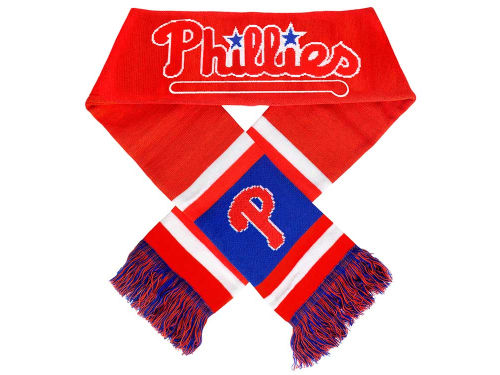 Philadelphia Phillies Forever Collectibles Acrylic Team Stripe Scarf