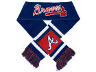 Atlanta Braves Forever Collectibles Acrylic Team Stripe Scarf Belts, Gloves & Accessories