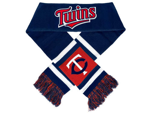 Minnesota Twins Forever Collectibles Acrylic Team Stripe Scarf