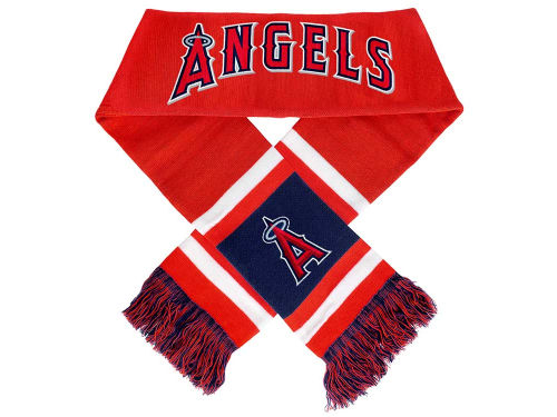 Los Angeles Angels of Anaheim Forever Collectibles 2012 Acrylic Team Stripe Scarf