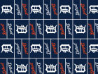 Detroit Tigers Gift Wrap Holiday