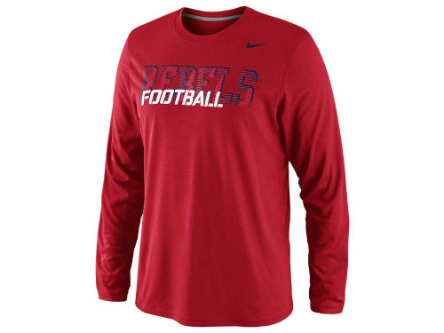 Mississippi Rebels Nike NCAA Dri Fit Legend Conference Long Sleeve T-Shirt