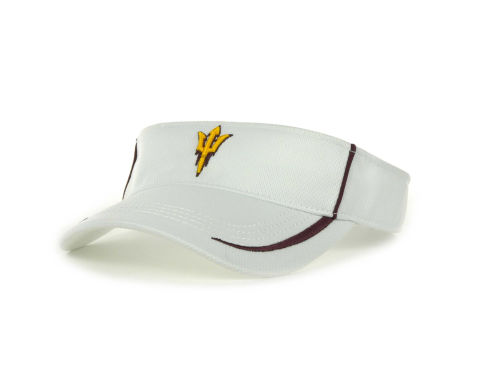 Arizona State Sun Devils Top of the World NCAA Lunatech Visor White Hats