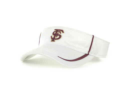 Florida State Seminoles Top of the World NCAA Lunatech Visor White Hats
