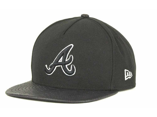 Atlanta Braves New Era MLB Snake A-Thru Strapback 9FIFTY Cap Hats
