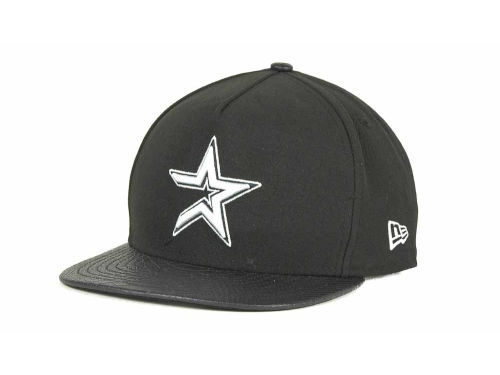 Houston Astros New Era MLB Snake A-Thru Strapback 9FIFTY Cap Hats