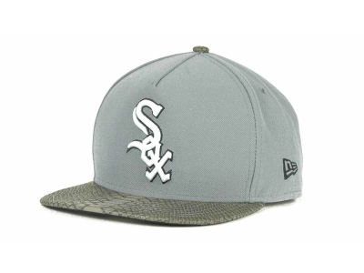Chicago White Sox MLB Snake A-Thru Strapback 9FIFTY Cap Hats