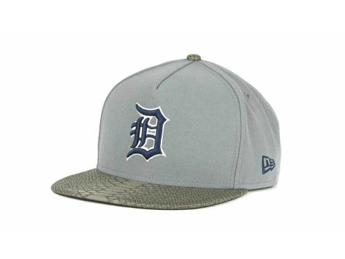 Detroit Tigers New Era MLB Snake A-Thru Strapback 9FIFTY Cap Hats