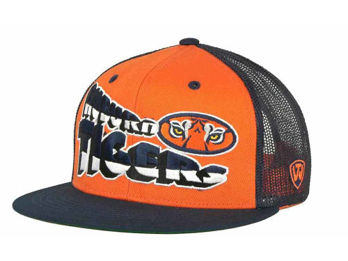 Auburn Tigers Top of the World NCAA Quagmire MB Snapback Cap Hats