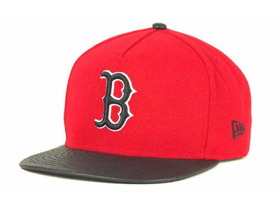 Boston Red Sox MLB Snake A-Thru Strapback 9FIFTY Cap Hats