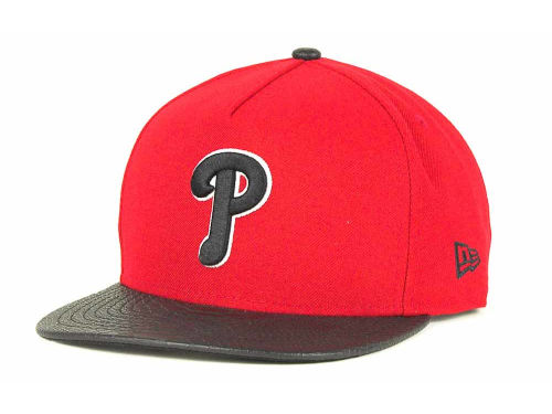 Philadelphia Phillies New Era MLB Snake A-Thru Strapback 9FIFTY Cap Hats