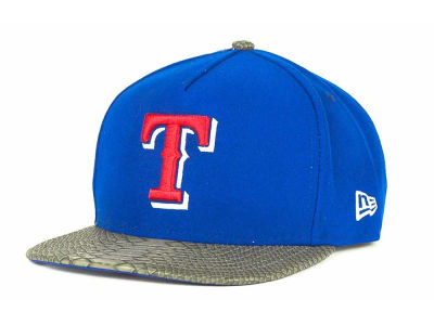 Texas Rangers MLB Snake A-Thru Strapback 9FIFTY Cap Hats