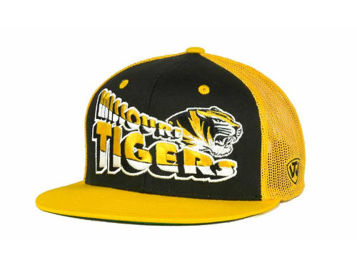Missouri Tigers Top of the World NCAA Quagmire MB Snapback Cap Hats