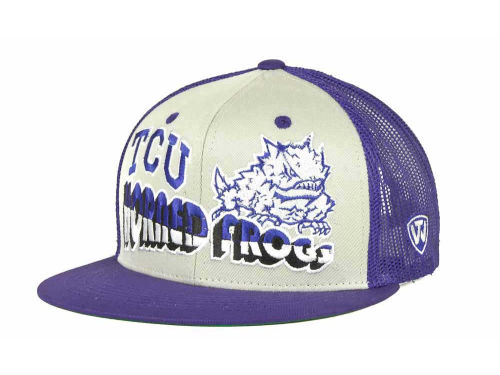 Texas Christian Horned Frogs Top of the World NCAA Quagmire MB Snapback Cap Hats