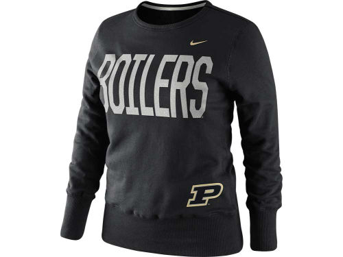 Purdue Boilermakers Nike NCAA Womens Classic Fleece Crew