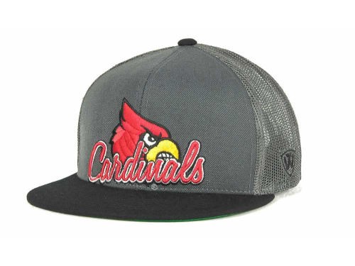 Louisville Cardinals Top of the World NCAA Undergrad Mesh Back Snapback Cap Hats