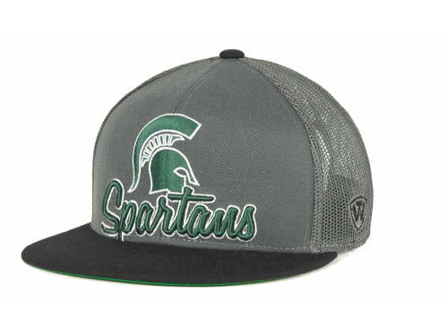 Michigan State Spartans Top of the World NCAA Undergrad Mesh Back Snapback Cap Hats