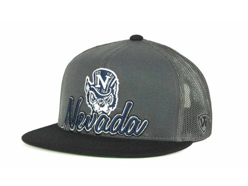 Nevada Wolf Pack Top of the World NCAA Undergrad Mesh Back Snapback Cap Hats