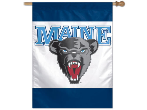 Maine Black Bears Wincraft 27X37 Vertical Flag