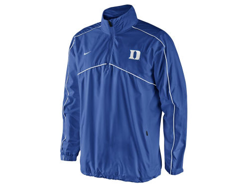 Duke Blue Devils Nike NCAA Woven Coaches 1/4 Zip Pullover Jacket