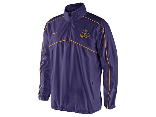 East Carolina Pirates Nike NCAA Woven Coaches 1/4 Zip Pullover Jacket