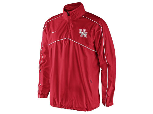 Houston Cougars Nike NCAA Woven Coaches 1/4 Zip Pullover Jacket
