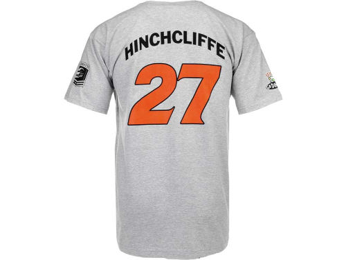 James Hinchcliffe Racing Mens Player Name and Number Driver T-Shirt