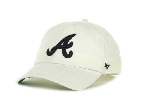 Atlanta Braves '47 Brand MLB Pull Thru Clean Up Cap Hats