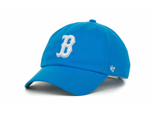 Boston Red Sox '47 Brand MLB Pull Thru Clean Up Cap Hats