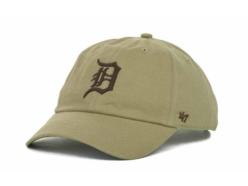 Detroit Tigers '47 Brand MLB Pull Thru Clean Up Cap Hats