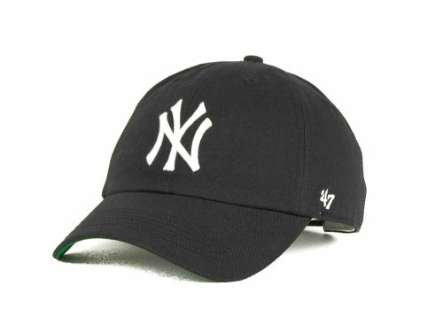 New York Yankees '47 Brand MLB Pull Thru Clean Up Cap Hats