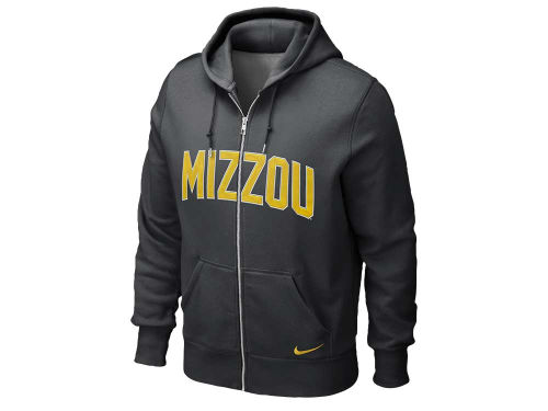 Missouri Tigers Nike NCAA Classic Full Zip Hooded Sweatshirt