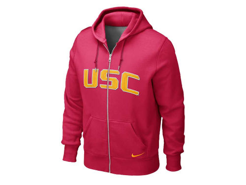 USC Trojans Nike NCAA Classic Full Zip Hooded Sweatshirt