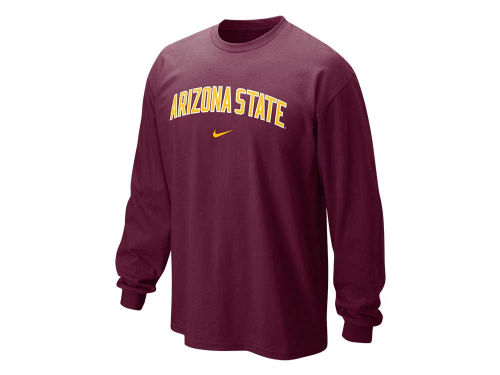 Arizona State Sun Devils Nike NCAA Long Sleeve Classic Arch T-Shirt