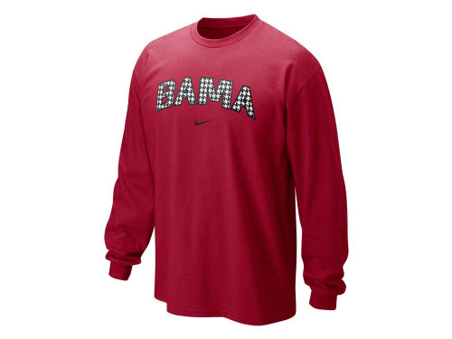 Alabama Crimson Tide Nike NCAA Long Sleeve Classic Arch T-Shirt
