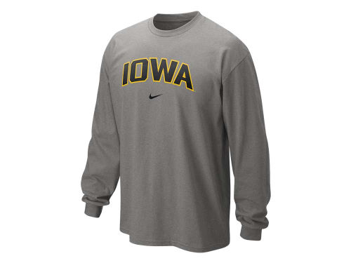 Iowa Hawkeyes Nike NCAA Long Sleeve Classic Arch T-Shirt