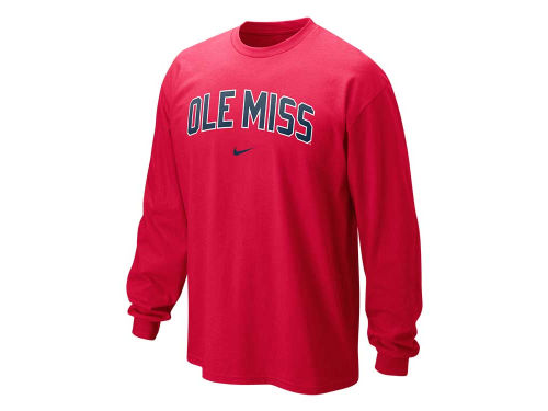 Mississippi Rebels Nike NCAA Long Sleeve Classic Arch T-Shirt