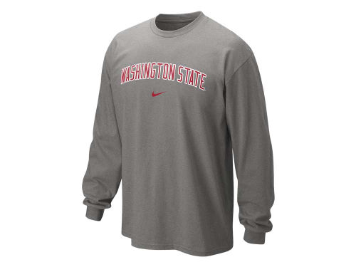 Washington State Cougars Nike NCAA Long Sleeve Classic Arch T-Shirt