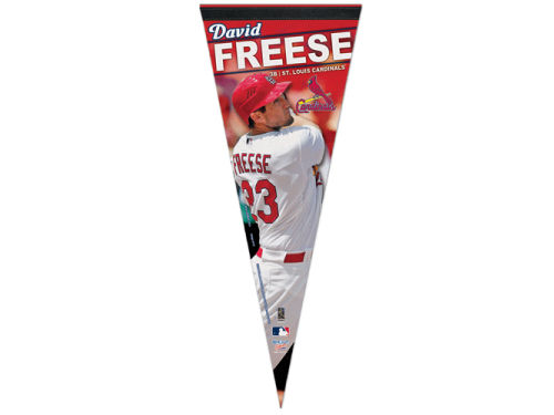 St. Louis Cardinals David Freese Wincraft 12x30 Premium Player Pennant