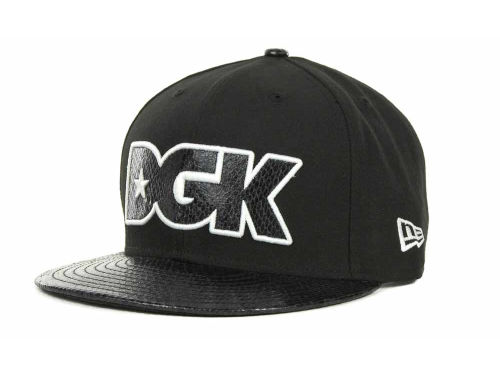 DGK Wildlife Snakeskin Strapback 9FIFTY Cap Hats
